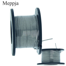 купить 2PCS/25meters 24g Nichrome wire Diameter 0.5MM kanthal-a1 DIY Manufacturing Heating wire Resistance wire Alloy heating yarn дешево