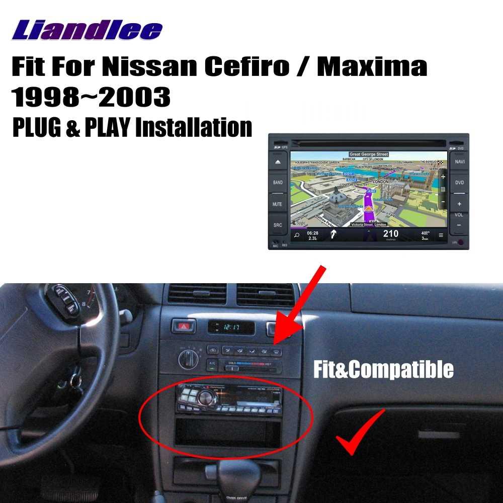 medium resolution of  liandlee for nissan cefiro maxima 1998 2003 android car radio cd dvd player gps