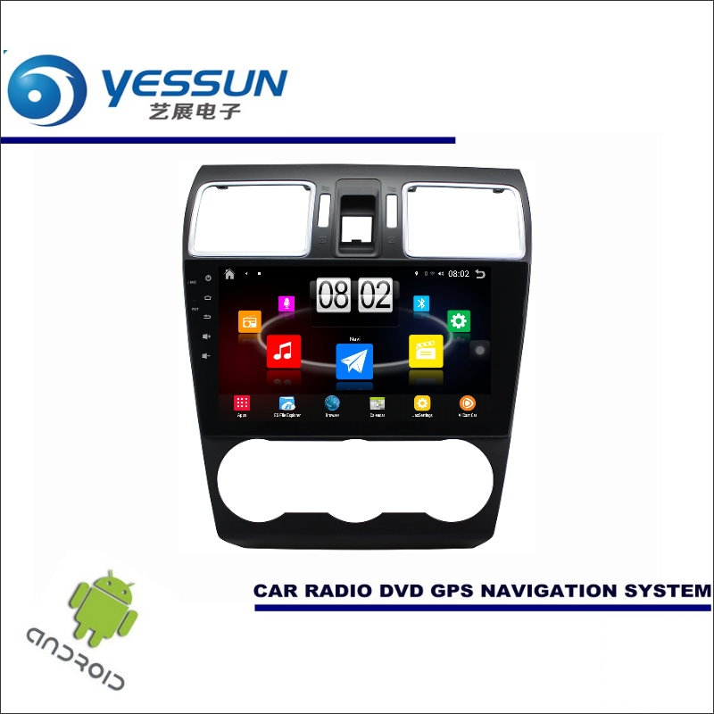Yessun автомобиля Android мультимедийный плеер для Subaru Forester SJ 2012 ~ 2017-Радио стерео GPS nav Navi Географические карты (без CD DVD) 9 HD Экран