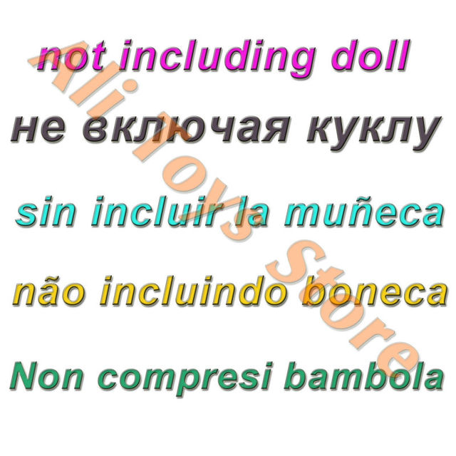 32 Item/Set Doll Accessories=10 Mix Fashion Cute Dress+ 4 Glasses+ 6 Necklaces+2 Handbag+ 10 Shoes For Barbie Doll 5
