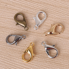 US $1.39 10% OFF 100pcs Mix Color 10mm Jewelry Hook Findings, Alloy Bronze/Gold/Gun Metal/Silve /Rhodium Plated Lobster Clasp FKA022 01-in Jewelry Findings & Components from Jewelry & Accessories on Aliexpress.com   Alibaba Group