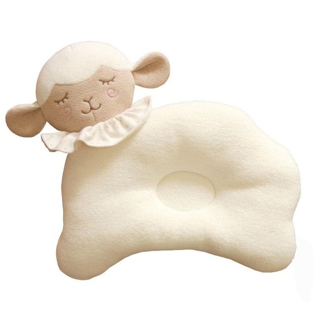 Travesseiro do bebê recém-nascido para evitar cabeça chata crianças infantil criança apoio travesseiro almofada proteção para a cabeça de segurança macio bonito