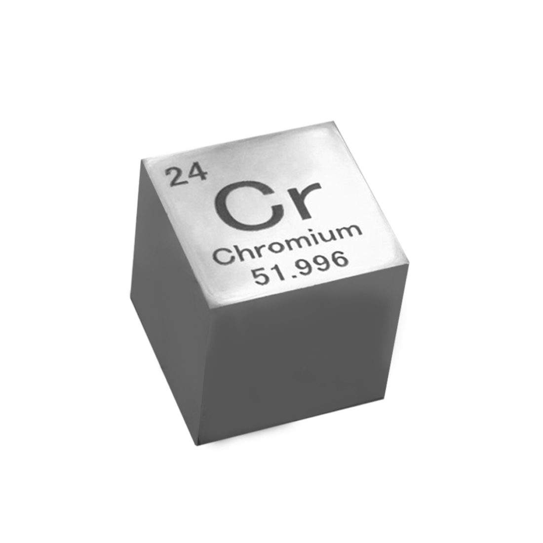 10 X 10 X 10mm High Pure Mirror Polish Chromium Cube Periodic Table Of Elements Cube For Lab Education Collection(Cr≥99.7%)
