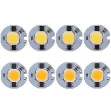 5pcs/lot LED COB Chip 12W 9W 7W 5W 3W 220V Input Smart IC White WarmWhite light beads for DIY Spotlight Floodlight track lamp