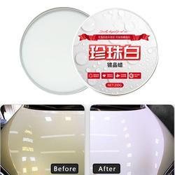 Samochód biały wosk pielęgnacja farba wodoodporna pielęgnacja usuwanie zarysowań Car Styling kryształ twardy wosk polski Scratch usuń