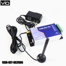 VIA GSM-KEY-DC2000 Free Shipping GPRS Server Support for Automatic Door Opener Max 2000 Authorized Number