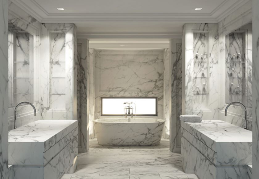 Honed White Carrara Marble 12x12 Marble Tilesin Stones From Home U0026  Garden On Alibaba Group
