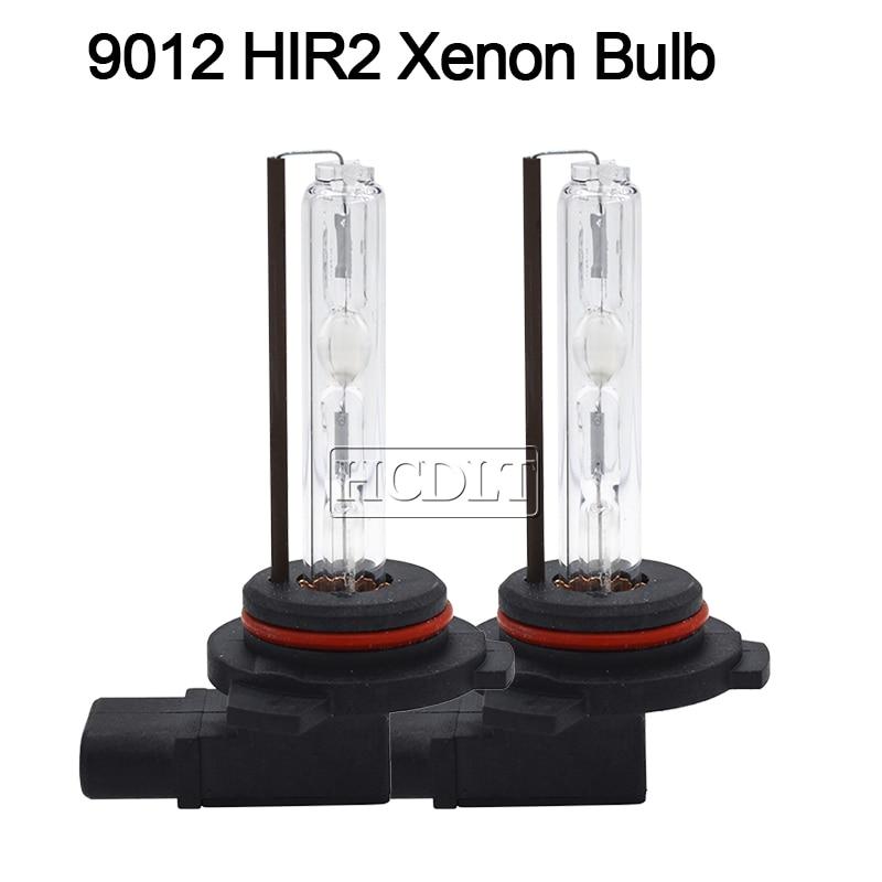 HCDLT 12V 35W 9012 HIR2 Xenon HID Bulb 55W 6000K 8000K 5000K 4300K Car Light HID Headlamp Bulb For Kit Xenon 9012 Auto Headlight (6)