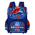 Nuevos Niños Mochilas escolares Para Niños Ortopédicos Mochilas Impermeables Muchacho Niño Spiderman mochila Taleguilla de La Mochila Mochila escolar