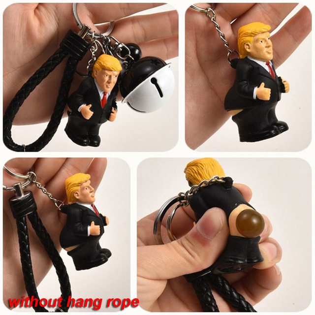 Pooping Donald Trump Key Chain 1