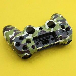 Image 5 - Cltgxdd Voorkant Terug Hard Plastic Bovenste Behuizing Shell Case Met Inner Ondersteuning voor PS4 Draadloze Controller Cover