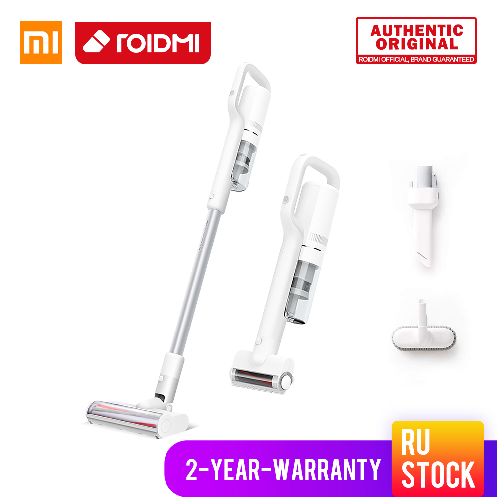 ORIGINAL XiaoMi ROIDMI Wireless Vacuum Cleaner New f8E Storm EU type Handheld Carpet Cleaner Vacuum