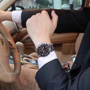 Image 5 - Relogio Masculino CASIMA Chronograph zegarek sportowy mężczyźni 100M wodoodporny urok Luminous wojskowy armia kwarcowy zegarek na rękę zegar Saat