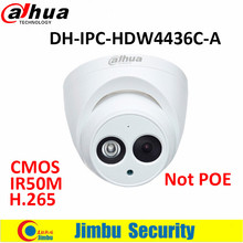 Dahua 4MP camera IR50M H.265 Full HD IP camera Built-in-MIC CCTV Network Camera DH-IPC-HDW4436C-A