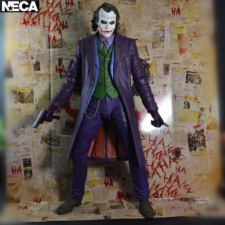 <font><b>NECA</b></font> Batman <font><b>The</b></font> <font><b>Dark</b></font> <font><b>Knight</b></font> - <font><b>The</b></font> <font><b>Joker</b></font> With Weapon (Heath Ledger) Action Figure (<font><b>1</b></font>/<font><b>4</b></font> <font><b>Scale</b></font>) No box