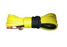 12mm 30meter uhmwpe corda sintética guincho linha com gancho