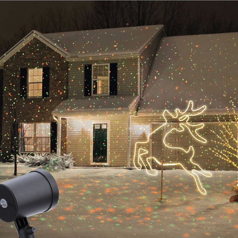 Laser Christmas Lights Falling Snow Decoratingspecial Com