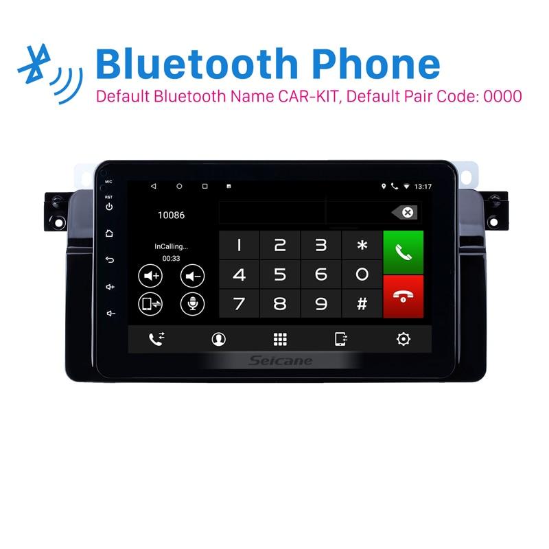 Seicane Android 8.1 8 inch IPS for BMW 3 Series E46 M3 1998-2006 Car GPS Navigation Radio Bluetooth support Digital TV CarplaySeicane Android 8.1 8 inch IPS for BMW 3 Series E46 M3 1998-2006 Car GPS Navigation Radio Bluetooth support Digital TV Carplay