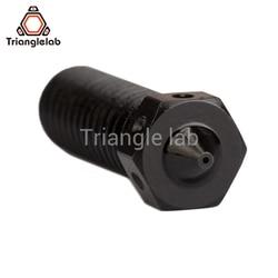 1PCS  Hardened Steel Volcano Nozzles for high temperature 3D printing PEI PEEK or Carbon fiber filament for E3DVolcano hotend