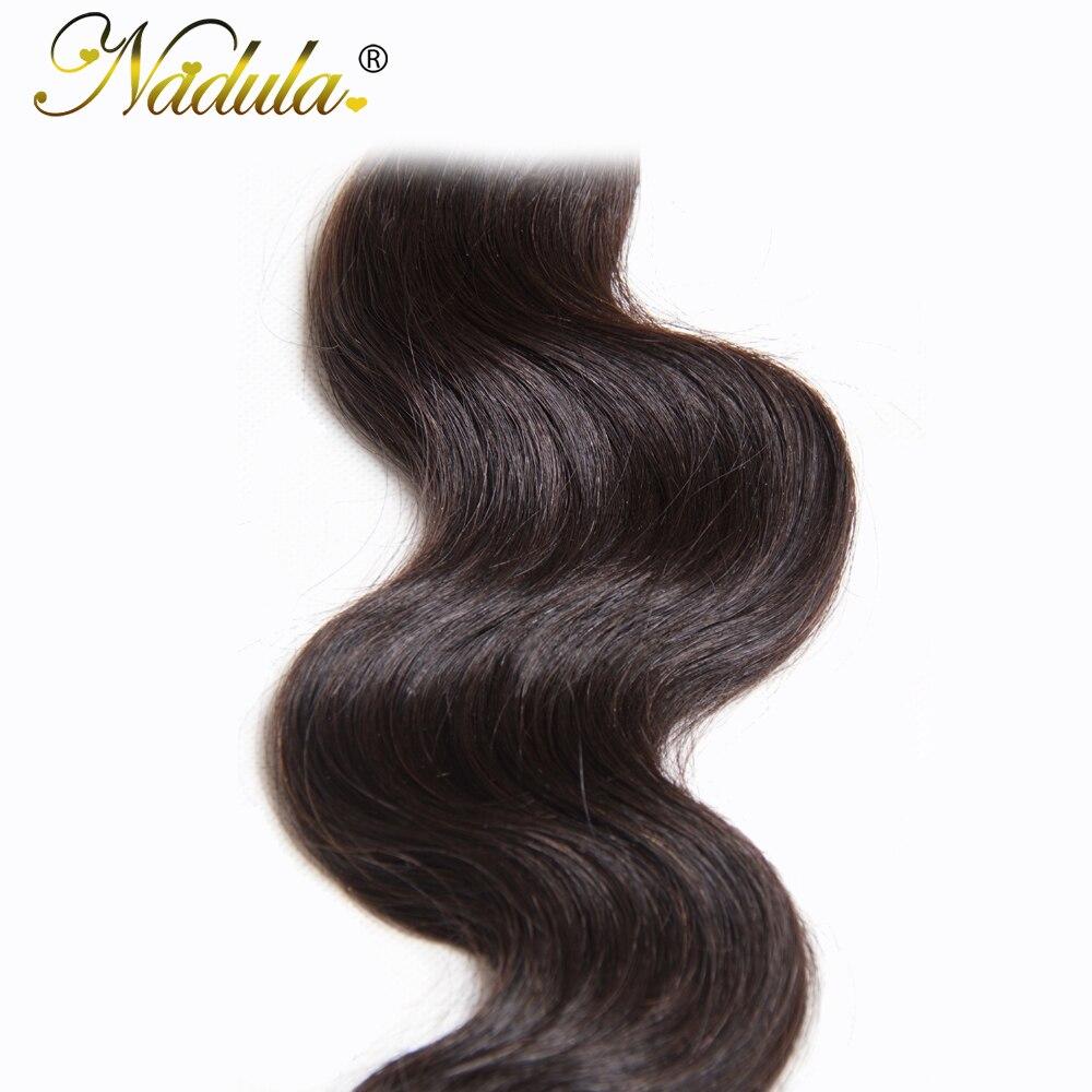 Nadula Hair Bundles 3Piece/Lot Indian Hair Body Wave 100% Human  Hair  Natural Color  6