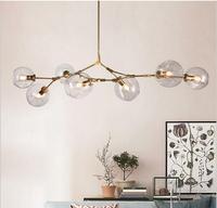 Nordic Modern Chandelier Lindsey Adelman Branching Industrial Led Lamp Chandelier Lighting for Living Room Light Fixture