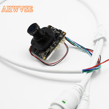 AHWVSE Wide View 2.8mm lens CCTV IP Camera module Board 720 960P 1080P ONVIF H264 Mobile Serveillance CMS IRCUT ONVIF