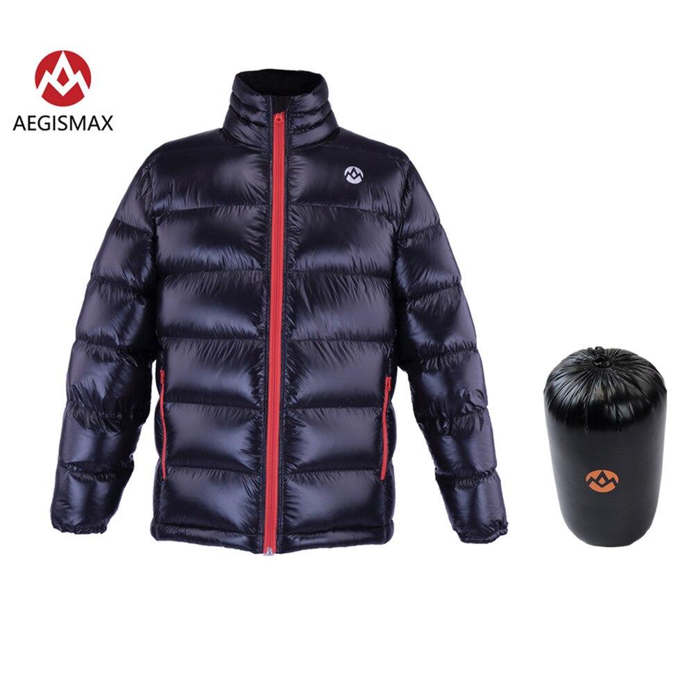 AEGISMAX Unisex Ultra-Light 95% Piuma D'oca Bianca di Imbottiture 800FP Imbottiture di Campeggio Esterna Tenere In Caldo Imbottiture Giacca