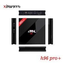 3 ГБ 32 ГБ H96 Pro + Amlogic S912 Восьмиядерный Android 6.0 H.265 4 К 1000 м 2.4 /5.8 Г Wi-Fi BT4.0 TV Smart Media Player tv box