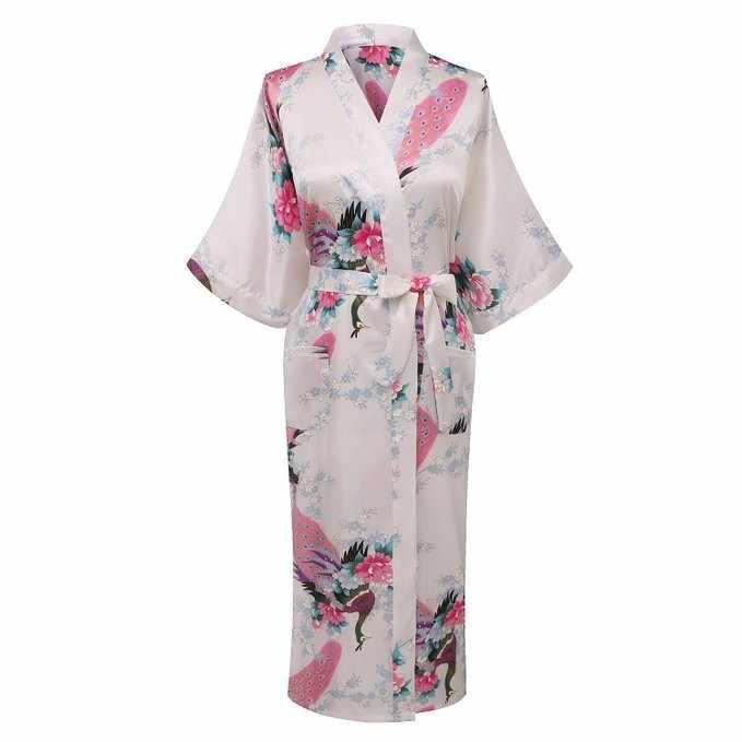 赤女性ののどのシルクローブバスローブ中国風の女性のパジャマ着物バースドレス Mujer スパースターサイズ S-XXXL
