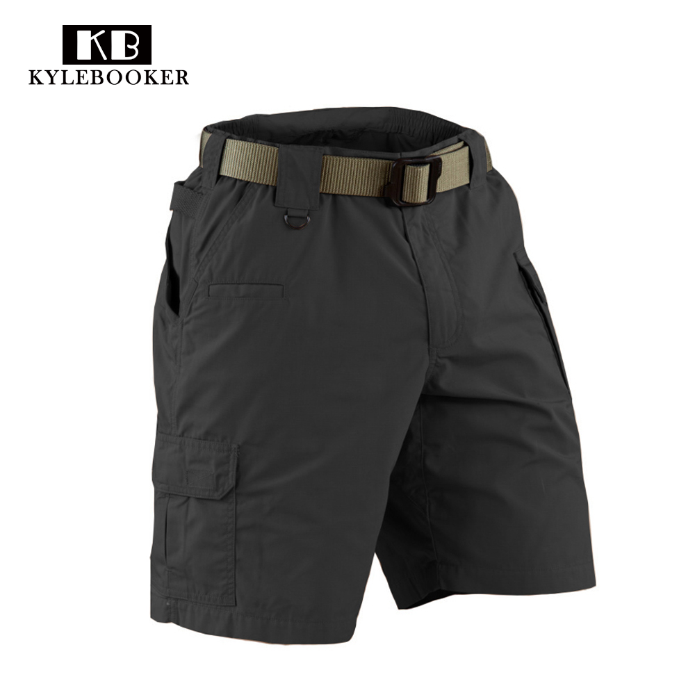 Hunting Military US army Multi-Pocket cargo shorts Mens Pockets Ripstop tactical Outdoor ...