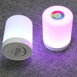Image 3 - Colorful Dimmable night light touch control USB charging powered lighting multi function LED lamp for bedroom outdoor lighs