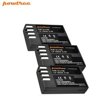 3pcs 7.2V 1400mAh Li-ion akku DLI109 D-LI109 D LI109 Camera Battery For PENTAX K-R K-2 KR K2 K30 K50 K-30 K-50 K500 K-500 L10