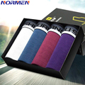 NORMEN Brand Clothing Men's Modal Trunks Fashion Soft Underwear for Men Comfortable Boxer