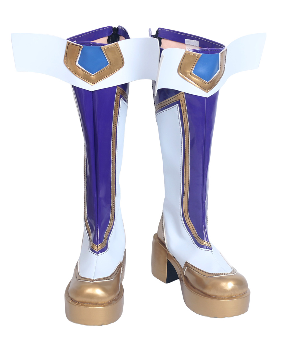 LOL the Prodigal Explorer Ezreal Cosplay Boots Shoes ...