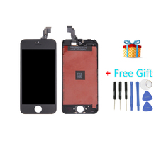 iPartsBuy 3 in 1 for iPhone 5C (LCD + Frame + Touch Pad + Free Gift ) Digitizer Assembly(Black)