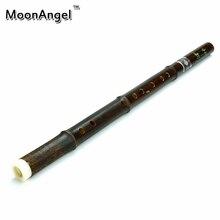 Chinese Bamboo Flute Recorder Vertical Mini Woodwind Musical Instrument Traditional Handmade Bambu Flauta G/F key 6hole Beginner