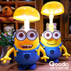 Minions Charging Lamp Learning Lamp Table Lamp Led Night Light Use As Money Box Minions Piggy