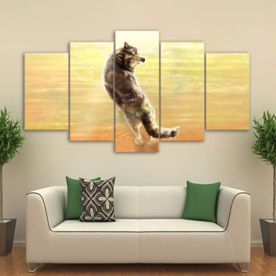 Dorable Wolf Wall Art Images - The Wall Art Decorations ...