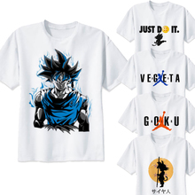Dragon ball camiseta super saiyan dragonball z dbz goku Vegeta capsule Corporación camiseta hombres/mujeres/niños larga para niños adolescentes