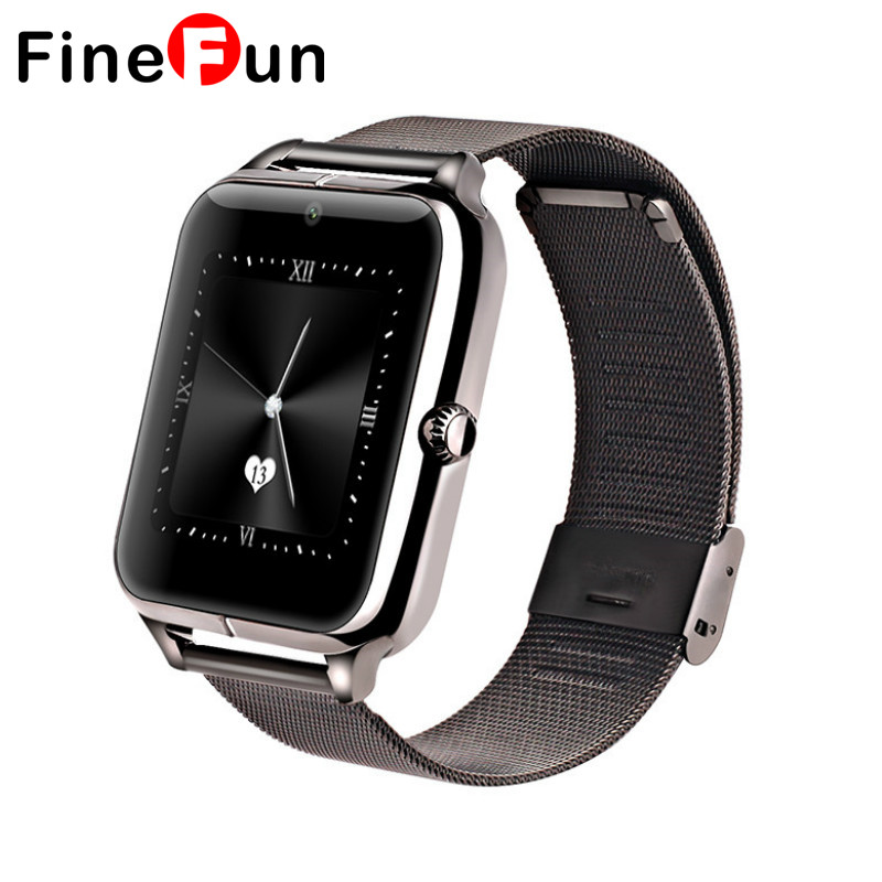 ФОТО Z50 Smart Watch Phone Bluetooth3.0 Connected with camera Support SIM Card TF Card SmartWatch For ios and Android smartphone