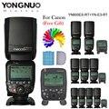 Hss yongnuo yn600ex-rt ii 2.4g sem fio 1/8000 s flash para canon + transmissor speedlite yn-e3-rt ttl gatilho de rádio como st-e3-rt