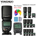 Yongnuo yn600ex-rt ii 2.4g wireless hss 1/8000 s ttl speedlite transmitter radio disparador de flash para canon + yn-e3-rt como st-e3-rt