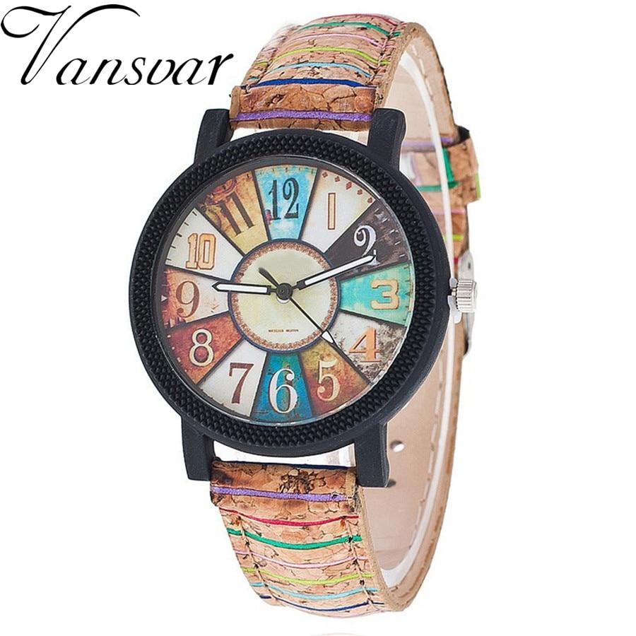 Vansvar Brand New Fashion Women Wristwatch Luxury Casual Quartz Watch Relogio Feminino Gift Clock Drop Shipping 1903