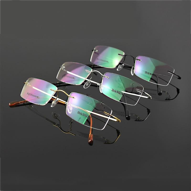 Beta Titan randlose Brille Scharnier nicht-Schraube flexible Brille - Bekleidungszubehör - Foto 5
