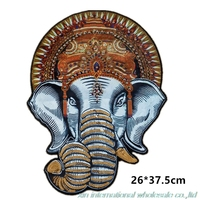 2017 DIY New Style High Quality Military Patch Calico Elephant Patch Manual Paillette Patches For Clothing