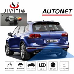 JIAYITIAN Rear View Camera For VW Touareg II NF 2011 2012 2013 2014 2015 2016 2017 2018 ccd Backup camera License Plate camera