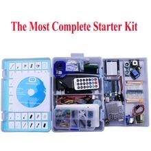 Elego UNO Projet La Plus Complete Starter Kit pour Arduino Mega2560 UNO Nano avec Tutoriel/Alimentation/Servo Moteur pas à pas