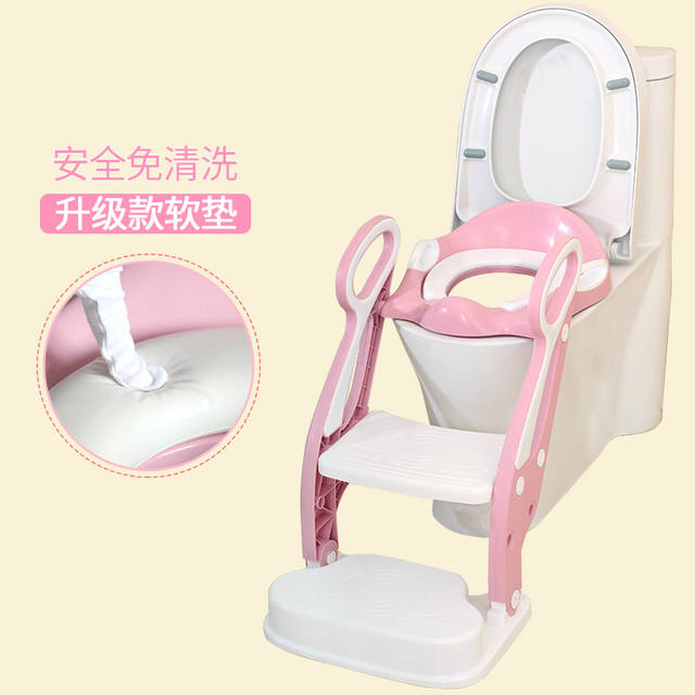potty chair large child portable folding chairs for outdoors online shop children s male baby urinal sitting toilet ladder seat soft with pad