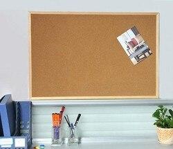 مكتب لوحة الفلين الخشب شنقا لوحة الإعلانات 30X40 سنتيمتر