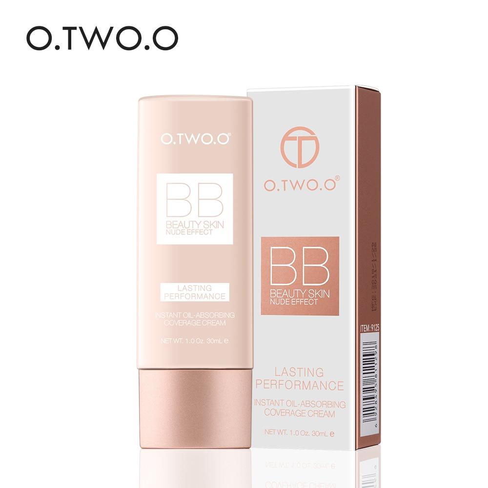 O TWO O Perfect Full Cover BB Cream 30ml Foundation Makeup Perfect BB CC Cream Face